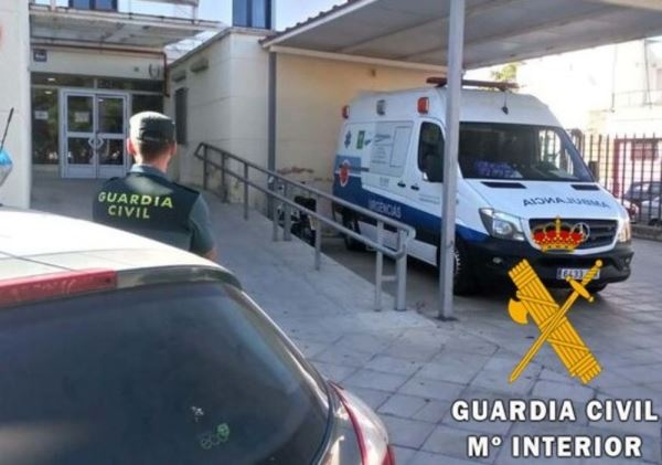 La Guardia Civil salva la vida de una mujer agredida por su expareja